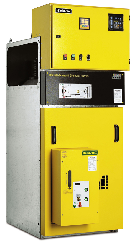 TG-21 SERIES METAL ENCLOSED SWITCHGEARS (24 kV)