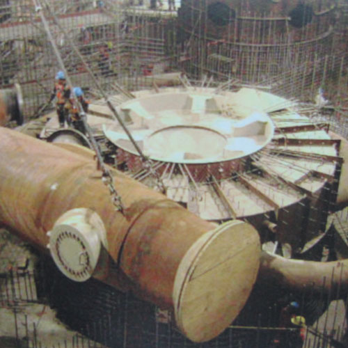 Construction of hydropower