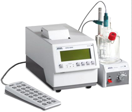 Content of analyzer KFM 3000