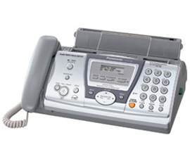 Fax machine - Panasonic KXFP145